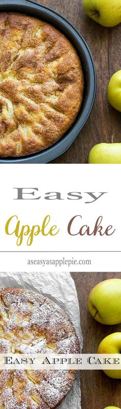 Easy Apple Cake: an easy recipe with simple ingredients