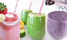 Healthy Smoothie Recipes For Any Goal: Fat Burn, A Flat Tummy, Increased Metabolism, Or Better Focus. Recipes For The Most Powerful And Helpful Smoothies. Fat Burning Smoothies, Weight Loss Smoothies, Healthy Smoothies, Healthy Drinks, Smoothie Recipes, Healthy Snacks, Green Smoothies, Smoothie Drinks, Detox Drinks