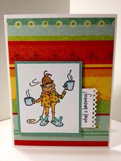 Adorable chantango stamped card