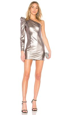 d93cd792037a3 Shop for Lovers + Friends Mallory Dress in Pewter at REVOLVE. Free 2-3