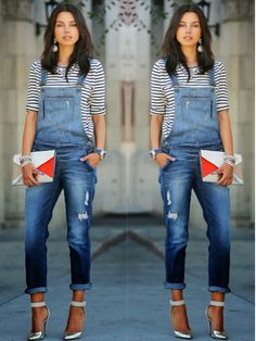 How to Chic: HOW TO WEAR OVERALLS WITH A CHIC ATTITUDE