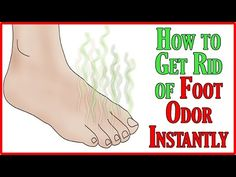 ✹Sweat and bacteria are the prime cause of Foot Odor. Your feet have about ½ million sweat glands which produce a lot of sweat. While sweat from your feet, n. Get Rid Of Stinky Feet, How To Get Rid, How To Remove, Foot Remedies, Foot Odor, Odor Remover, Holistic Remedies, Back Pain Relief