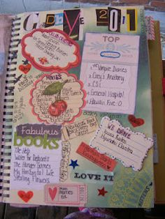 SMASH journal from K :: great for journaling, photos, etc...  A great last page / end of year