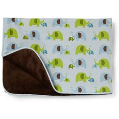 Skip Hop Elephant Parade Blanket (2.150 RUB) ❤ liked on Polyvore featuring home, children's room, children's bedding, baby bedding and babies