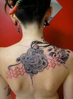 Splice tattoo