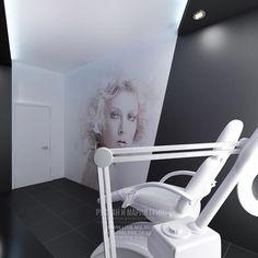 Дизайн интерьера салона красоты «Cool People»