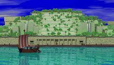 Chaldea-Bordering on the Persian Gulf & located at the base of the Tigris & Euphrates rivers. Also the birthplace of Abraham of Ur and the starting point of his journey to Mesopotamia and Canaan. (Genesis 11:28; 11:31; 15:7)