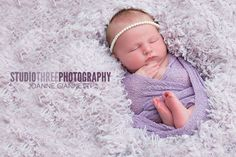 Lavender Stretch Knit Wrap | Beautiful Photo Props