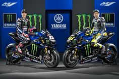 """Beast Mode On"" Livery Debuts for Monster Yamaha MotoGP Team Motogp Teams, Motogp Race, Vinales, F1 Racing, Drag Racing, Eos, Motogp Valentino Rossi, Sepang, Yamaha Motor"