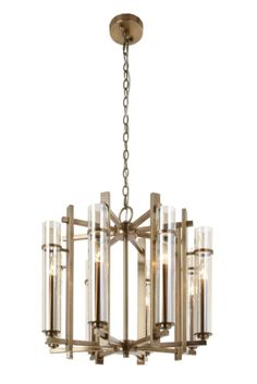 Lighting : Ceiling Lights : Louis 8 Light Chandelier : RV Astley