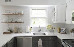 reforma fácil de cocina reforma cocina con pintura pintar cocina cocinas blancas modernas cocina blanco negro cocina americana reforma blog decoración nórdica antes despues cocina