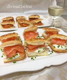 You searched for hojaldre - Divina Cocina Vegan Snacks, Easy Snacks, Healthy Snacks, Easy Meals, Bbc Good Food Recipes, Yummy Food, Flan, Salsa, Sandwiches