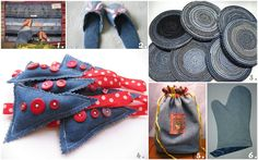 Kanelstrand: Weekend DIY: 6 Recycled Denim Jeans Projects