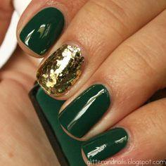 Glitter and Nails: Essie Going Incognito + Milani Gold