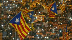 Hundreds of thousands take to Barcelona streets demanding release of jailed leaders (VIDEO) https://tmbw.news/hundreds-of-thousands-take-to-barcelona-streets-demanding-release-of-jailed-leaders-video  A sea of protesters filled the streets of the Catalan capital, Barcelona, demanding Madrid release several jailed regional leaders and officials who have been charged with rebellion, sedition and the misuse of public funds.Some 750,000 Catalans took part in the massive protest march on…