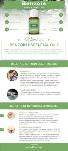 Benzoin essential oil has many wonderful uses and health benefits such as healing chapped skin and helping respiratory conditions. This guide covers the research and facts behind this powerful oil. Essential Oils Guide, Citrus Essential Oil, Chamomile Essential Oil, Essential Oil Perfume, Essential Oil Uses, Cinnamic Acid, Helichrysum Essential Oil, Chamomile Oil, Healing Oils