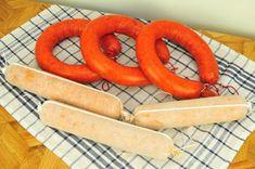 Nasušte si klobásky a salámy bez údenia (chorizo) » Prakticky.sk Chorizo, Carrots, Sausage, Meat, Vegetables, Food, Sausages, Essen, Carrot