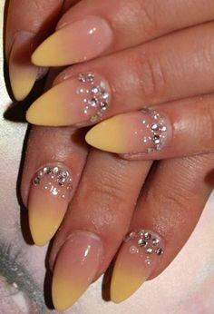 20 Sunset Nail Design Ideas - Fashion Diva Design