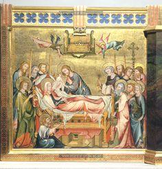 Death of the Virgin, 1330-1331, Master of the Verdun Altar, Vienna