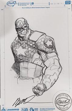 Captain America by Humberto Ramos [Boston ComicCon 2015]