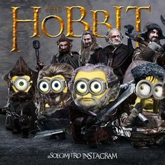 MINION MINIONS FUNNY STAMPS Hobbit (soegimitro) on Instagram | iPhoneogram