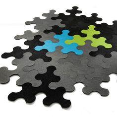 Puzzle Rug IMPERIAL from latvian designer Nauris Kalinauskas
