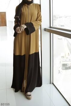 Niqab Fashion, Muslim Fashion, Kimono Fashion, Fashion Wear, Modest Fashion, Mode Abaya, Mode Hijab, Hijab Dress, Hijab Outfit