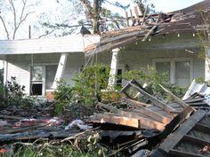 my  home in Louisiana After Hurricane Gustav