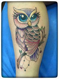 Love Tattoos, Beautiful Tattoos, Body Art Tattoos, Tattoos For Guys, Tatoos, Tattoos For Women, Owl Tattoo Design, Tattoo Designs, Wolf Tattoo Meaning