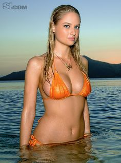 Genevieve Morton - Sports Illustrated Swimsuit 2011 Location: Turtle Island, Fiji, Turtle Island Swimsuit: Swimsuit by Inca Photographed by: Walter Iooss Jr.