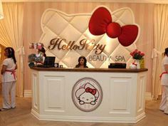 hello kitty beauty spa  My dream to go there