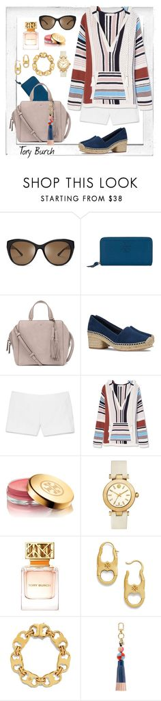 """Tory Burch all day"" by jrowe1969 ❤ liked on Polyvore featuring Polaroid and Tory Burch"