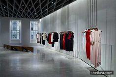 Farshid Moussavi Types London Shop Interior For Victoria Beckham - http://www.theikea.com/interior-design-ideas/farshid-moussavi-types-london-shop-interior-for-victoria-beckham.html