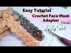 Crochet Mask, Crochet Faces, Easy Crochet, Free Crochet, Beginner Crochet, Crochet Patterns Filet, Crochet For Beginners Blanket, Crochet Videos, Crochet Slippers