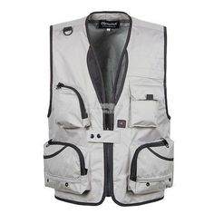 Multi-functions Camera Photograph Fishing V Neck Casual Outdoor Vest