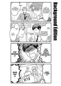 Backgound edition. Its funny how much nozaki kun relay on hori senpai #gekkan shoujo nozaki kun
