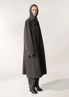 OVERCOAT - Lemaire-USA Price Labels, Cotton Linen, Jackets, How To Wear, Winter Coats, Outfits, Clothes, Women, Fashion