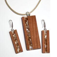 Wood resin earrings handmade Wood resin pendant Epoxy resin art earrings Wooden earrings for woman Wood Necklace, Resin Necklace, Wooden Earrings, Wooden Jewelry, Custom Jewelry, Diy Jewelry, Women's Earrings, Jewelry Making, Wood And Resin Jewelry