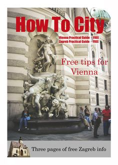 Ad for Vienna and Zagreb Practical Guides by How To City. (Not the actual cover.)