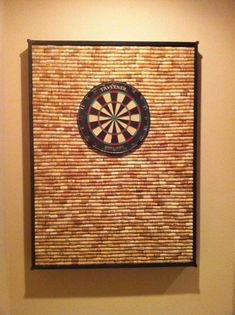 DIY Gifts For Men | Awesome Ideas for Your Boyfriend, Husband, Dad - Father , Brother and all the other important guys in your life. Cool Homemade DIY Crafts Men Will Truly Love to Receive for  Christmas, Birthdays, Anniversaries and Valentine's Day | Corkwall Dart Board  |  http://diyjoy.com/diy-gifts-for-men-pinterest