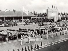 Opening Ceremony 1920 Antwerp Olympic Games