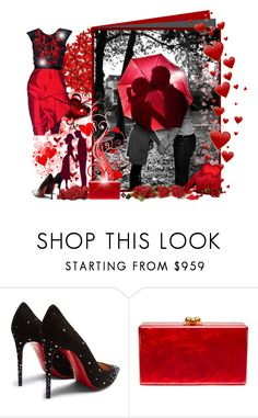 """ME+YOU=LOVE"" by asia-12 ❤ liked on Polyvore featuring Jason Wu, Christian Louboutin and Edie Parker"