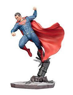 Kotobukiya Batman vs Superman Dawn of Justice Superman ArtFX Statue -- Click image to review more details.