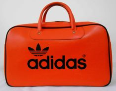 Vintage 70s Adidas Peter Black Northern Soul Weekender Soul Sports Bag  Holdall 3d4a31981b