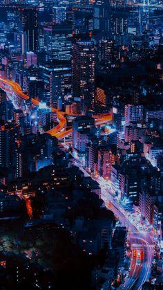 Aesthetic Japan, Night Aesthetic, City Aesthetic, Paris By Night, Tokyo Night, Neon Wallpaper, Wallpaper Pictures, Latest Wallpaper, Wallpaper Ideas
