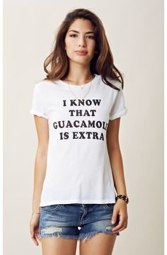 GUACAMOLE IS EXTRA SCHIFFER TEE
