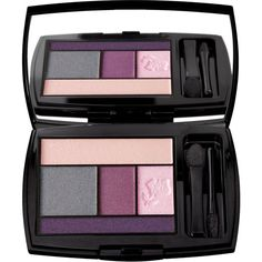 Lancome Color Design Eye 5-Pan Palette, Parisian Pop Collection found on Polyvore featuring beauty products, makeup, eye makeup, eyeshadow, rose tempete, eye brow makeup, palette eyeshadow, lancôme, lancome eyeshadow and lancome eye makeup
