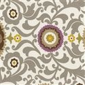 Violet and Stone Suzani Fabric Swatch 125x125 image
