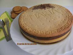 Tarta de Galletas María. (Mega Galleta)