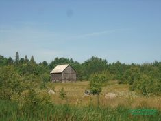 This Old Barn sits on this picturesque landscape off Highway 141 at Turtle and Star Lake Road near Rosseau Ontario.